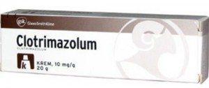 clotrimazolum lek na grzybicę
