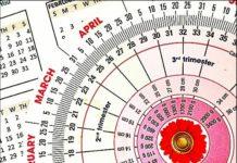 kalendarzyk ciążowy