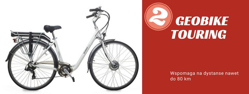 rower elektryczny Geobike Touring