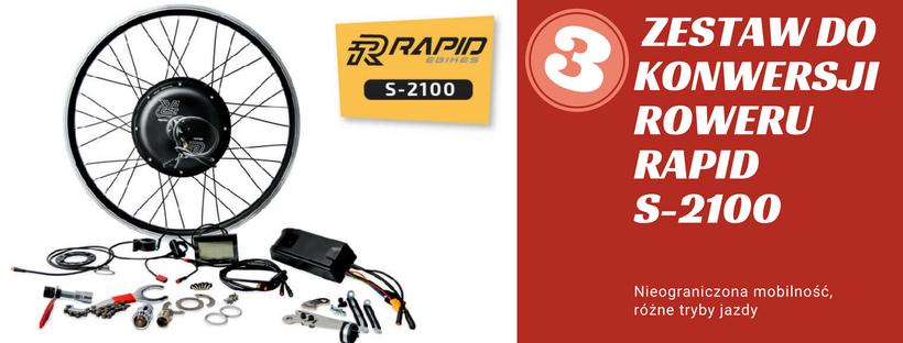 Zestaw do konwersji roweru Rapid S-2100