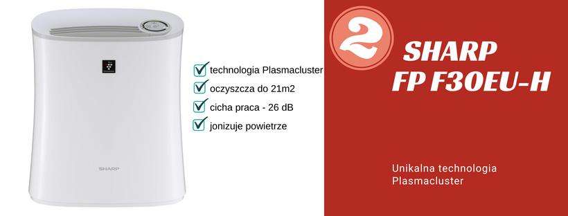 ranking oczyszczacz powietrza sharp fp f30eu-h